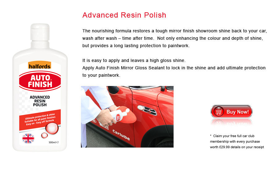 Auto Finish Advanced Resin Polish