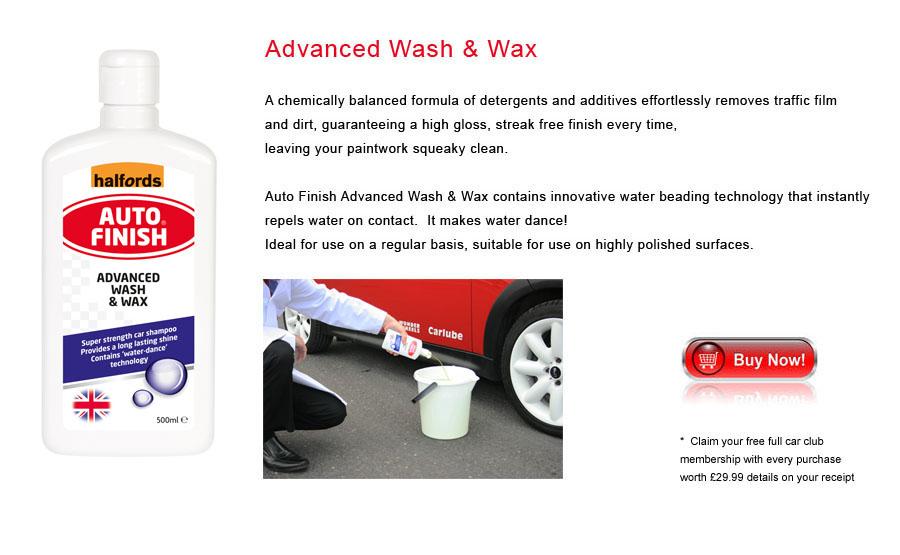 Auto Finish Advanced Wash & Wax