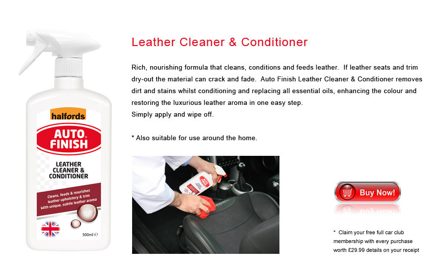 Auto Finish Leather Cleaner & Conditioner