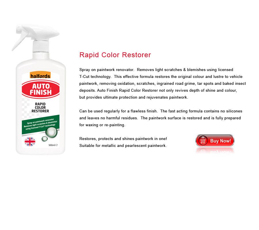 Rapid Color Restorer