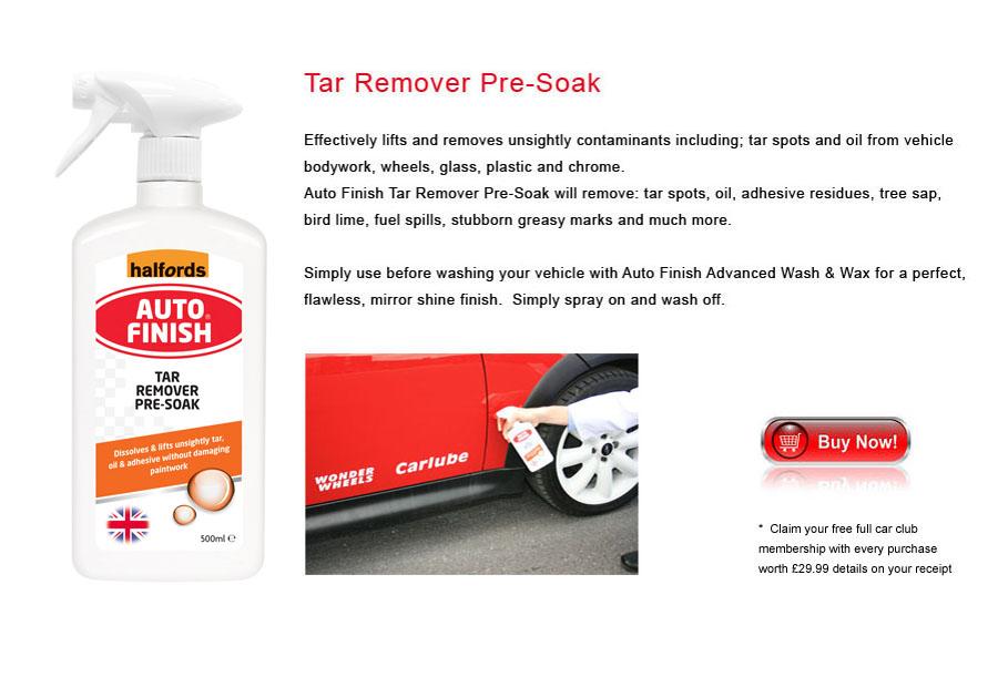 Auto Finish Tar Remover Pre-Soak