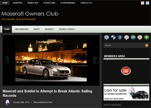 Maserati Owners Club