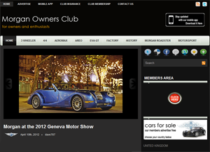Morgan Owners Club