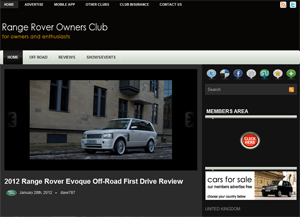 Range Rover Owners Club